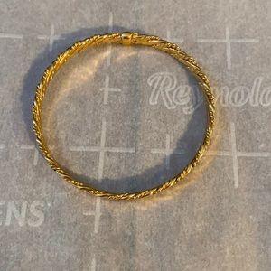 Faux gold bracelet